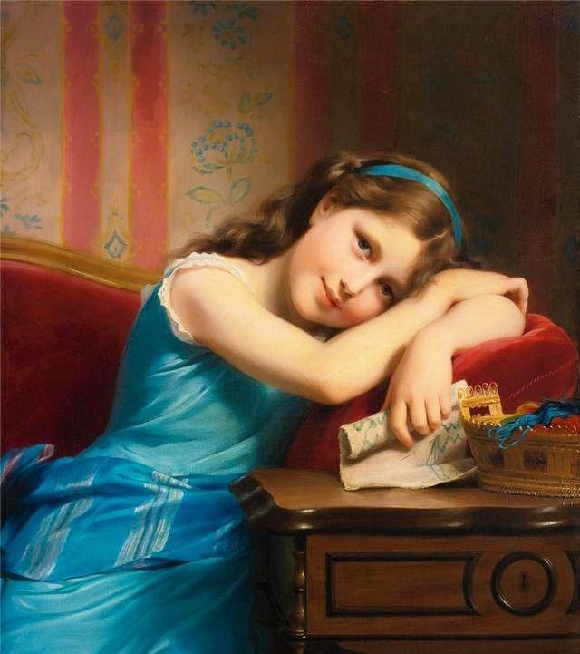 弗里茨·朱伯布勒油画作品