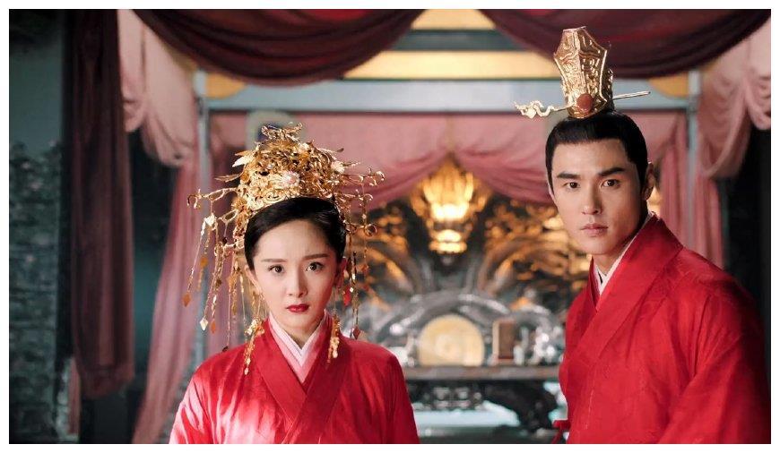 《扶摇》四大美人新娘装,杨幂、李依晓、胡可,谁最让人惊艳?