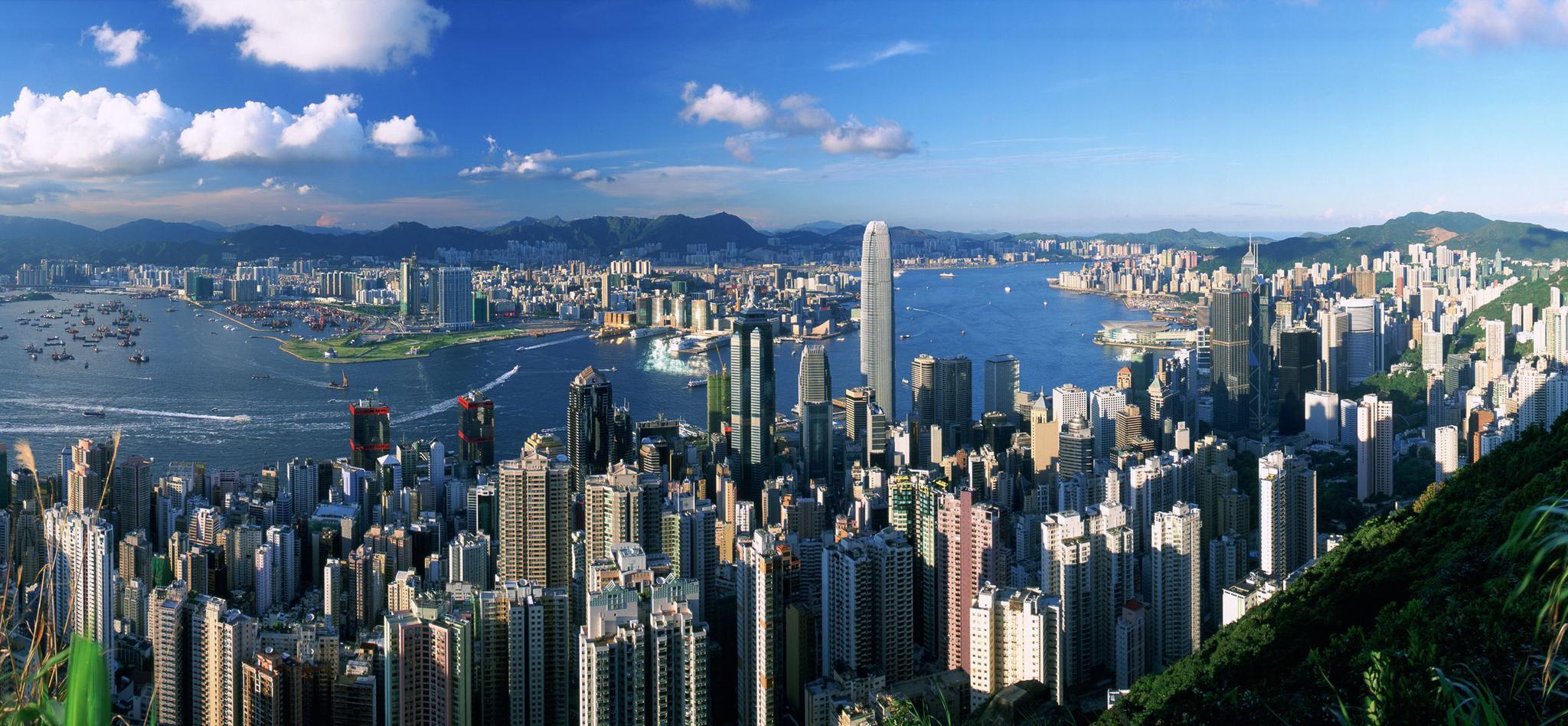 成就香港繁荣的美丽港口-维多利亚港