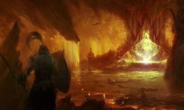 《暗黑破坏神4》海量艺术概念图 尸骸遍地,黑暗阴森