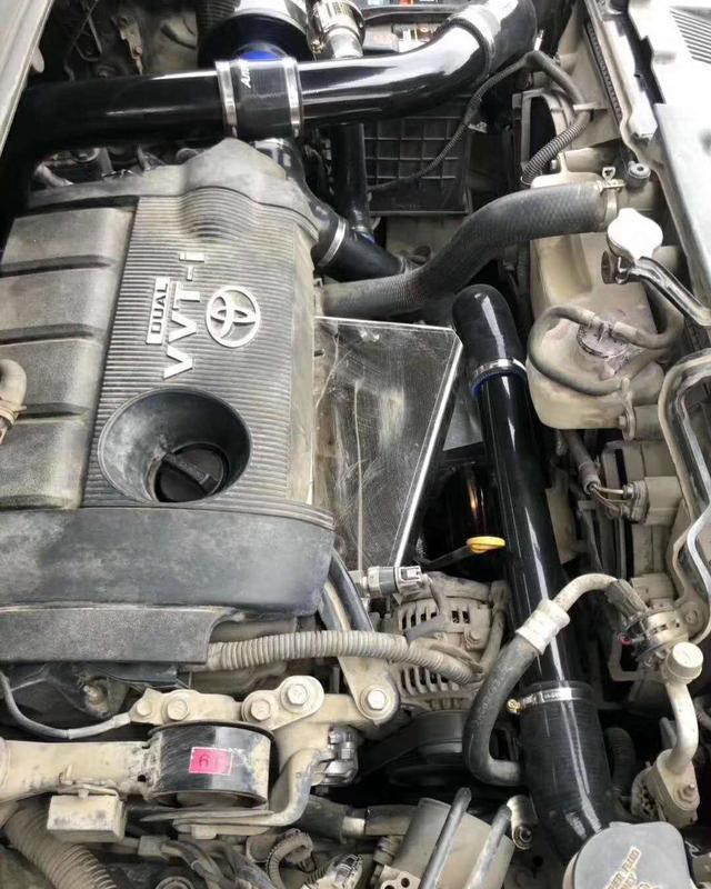 改装案例:动力提升,汉兰达2.7安装涡轮增压,动力媲美3.5