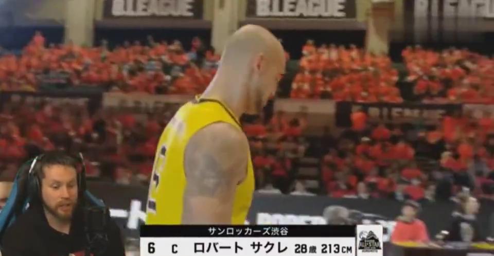 日本扣篮大赛2.13米的萨克雷这一扣实属有点意外