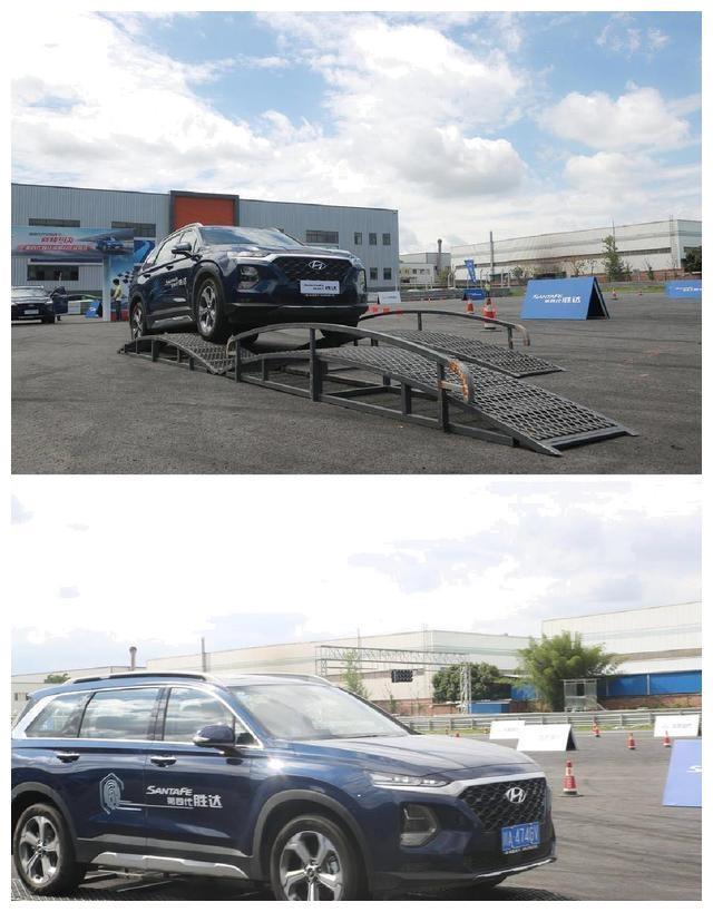 北京现代第四代胜达成都对比试驾会,看合资大尺寸SUV现场PK
