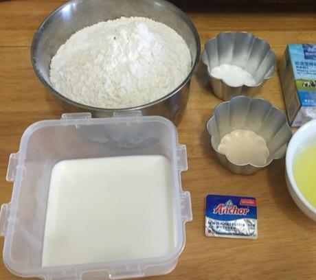 绵软得淡奶油吐司制作方法,早餐必备