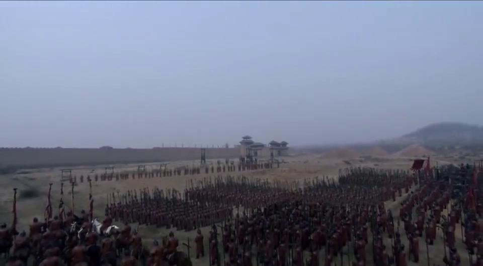 大秦帝国:魏国大军集结城下,看来韩国新政不保,这音乐大气!