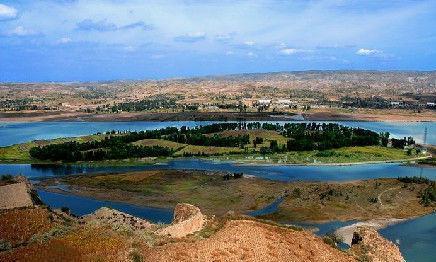 黄河中唯一有人居住的小岛,是母亲河上第一滩,被称为塞外小江南