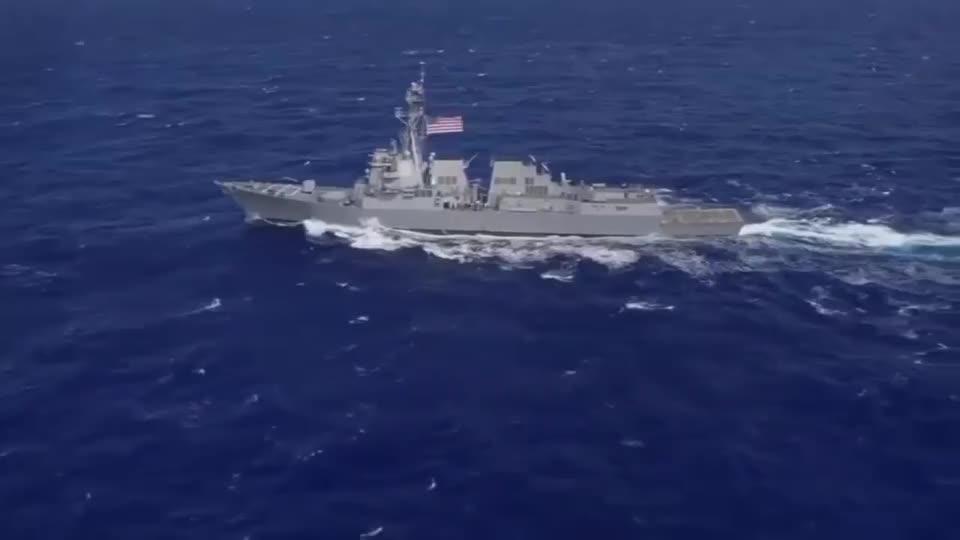 伊朗做出强硬挑衅,反潜机低空掠过美军舰,但美为何没反应?