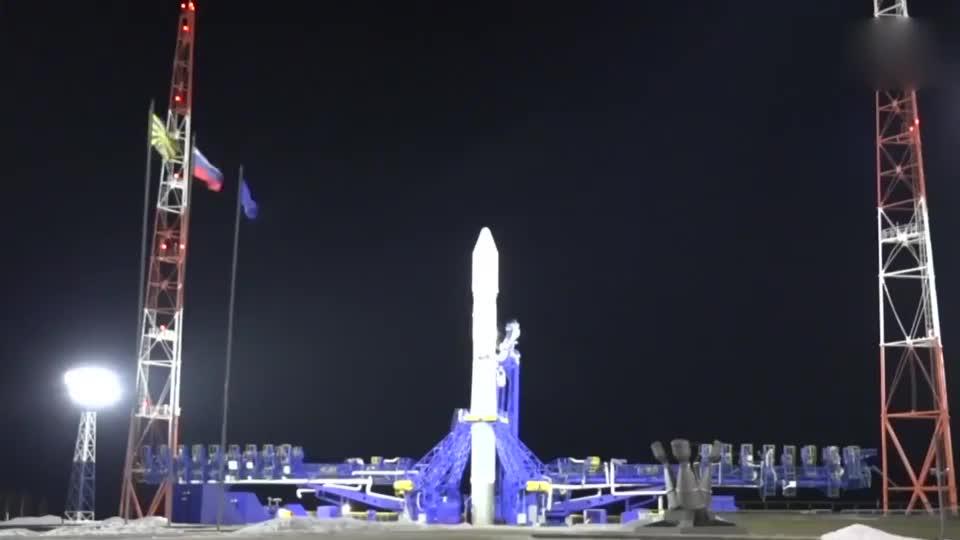 """俄罗斯""""联盟-2.1B""""运载火箭成功发射,厉害!"""