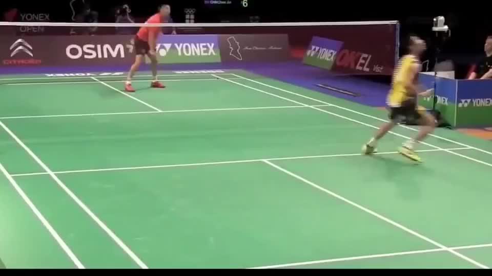 李宗伟打球速度是真的快,分享个视频,让你们看看!厉害