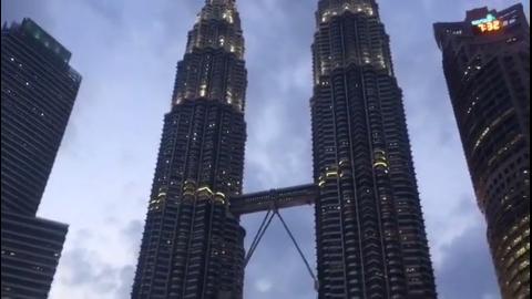 马来西亚:双子塔现场实拍,很美看看吧……