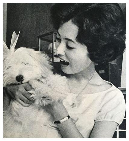 罕见老照片:60年代日本招牌女演员,第二位的容貌令人心跳加速