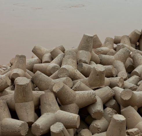 海岸、堤坝常见这种造型奇特的混凝土构件,叫啥名?