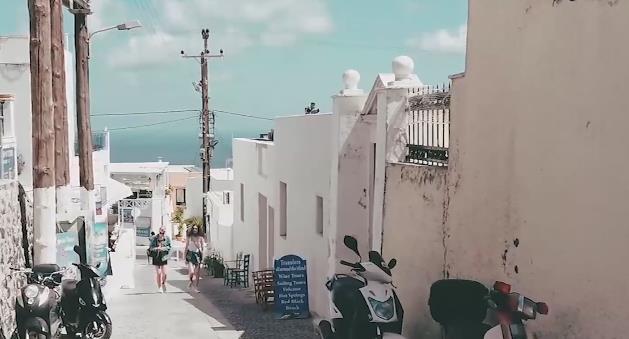 """全球""""最浪漫""""的地方之一,度蜜月的圣地,美丽的希腊圣托里尼"""