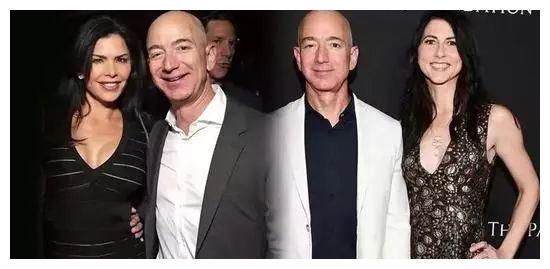 世界首富新欢真大胆,49岁穿粉色还素颜,看到皱纹相信是真爱了