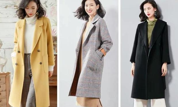 跟着时尚博主学穿搭,毛呢外套搭配出优雅女人味!