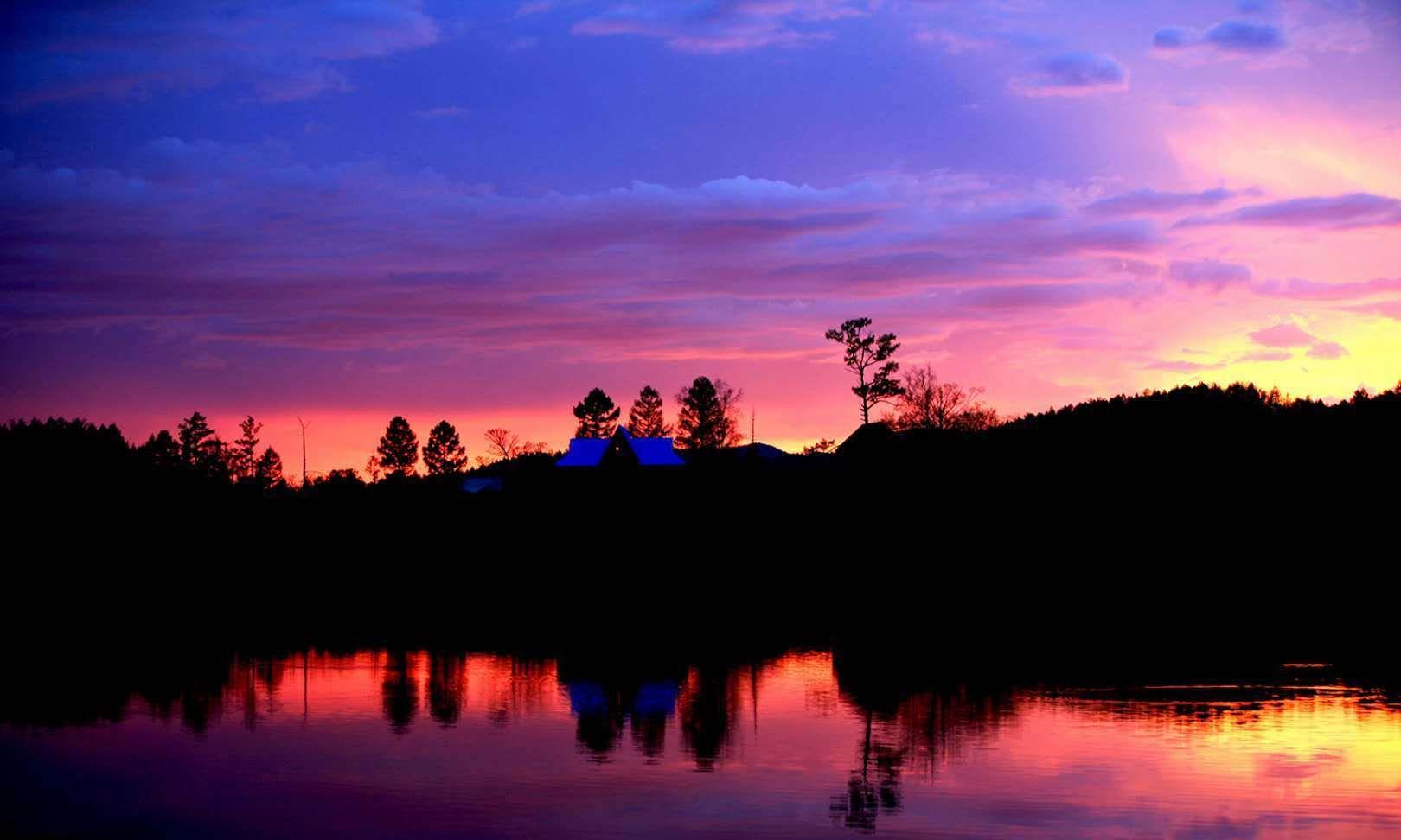 远山似梦,夕阳如金,呼伦贝尔最美的时光你见过吗?