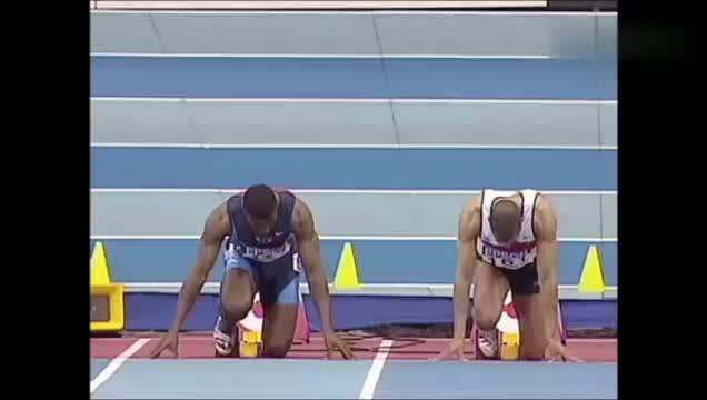 回顾世界室内田径锦标赛加特林赢得60米冠军