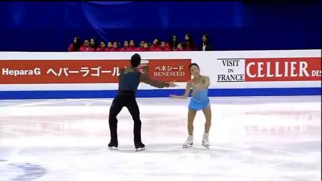 花样滑冰:隋文静韩聪四周抛跳,动作流畅,简直太惊艳了