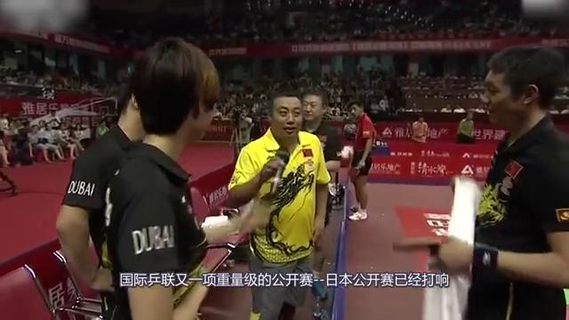 日本选手伊藤美诚想和刘诗雯练习,日本教练却不同意