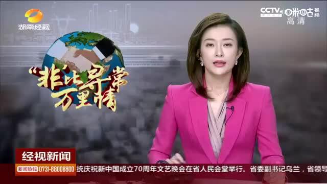 湖南:许达哲会见中非人民币国际化论坛参会代表