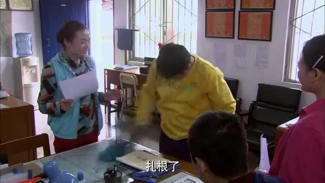 鲜花盛开的村庄:姚一扇抱了一袋子钱来村委会,要建乡村医院