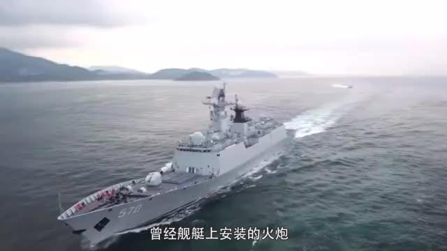 055驱逐舰必备利器,电磁炮射程超战斗机,对方无法拦截