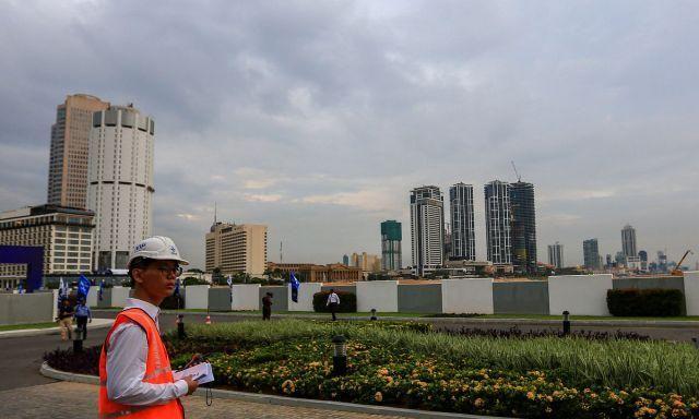 中国施工队5年造出一座新城,为斯里兰卡新增269公顷土地,真牛