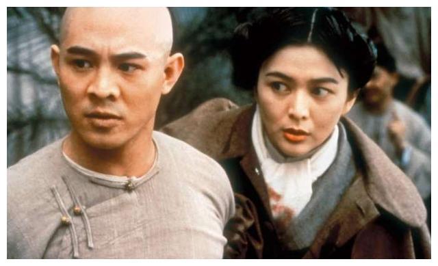 她六次合作李连杰,《黄飞鸿》之十三姨,还搭档林青霞
