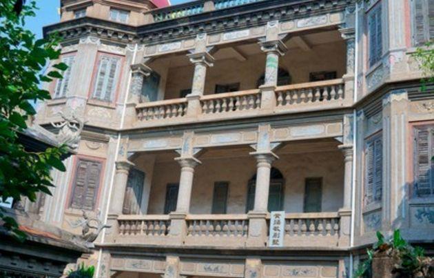 旅游:金瓜楼——既有罗马建筑的因素,又有洛可可艺术的美感