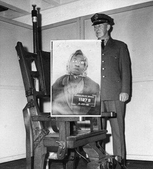 黑人妇女反杀白人老头被迅速认定有罪,人生唯一照片为入监时所拍