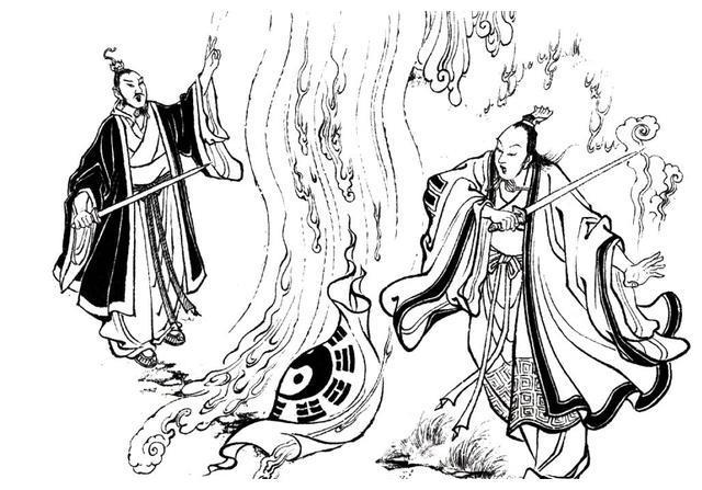 八卦云光帕、九龙神火罩、七宝妙树等封神榜法宝(三)