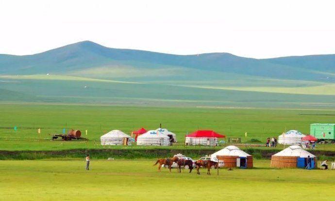 呼伦贝尔大草原,一望无际的除了美景还有难得遇到的安静风景图片