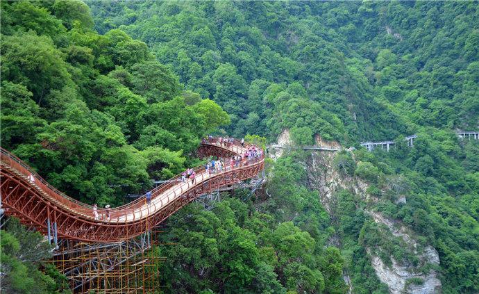 西安旅游,去一趟少华山需要花钱,实用的攻略都在这新手远征攻略图片