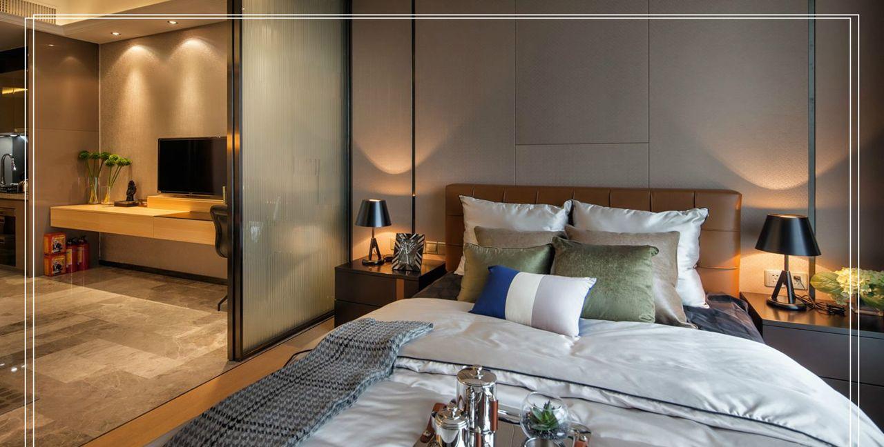 个人珍藏高清装修图:现代轻奢风格单身公寓图片赏析