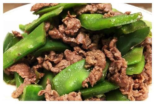 荷兰豆炒牛肉,鲜香、味美又营养,提升免疫力,温暖过冬好处多