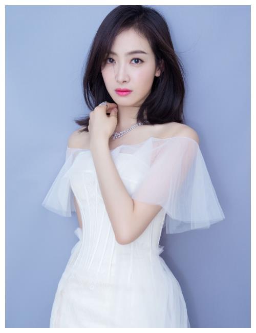 女星仙女系礼服,宋茜上榜,baby第二,第一美的让人着迷!