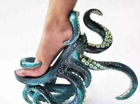 世上最奇葩的鞋子:第四双没人能够驾驭,第五双售价114786万!