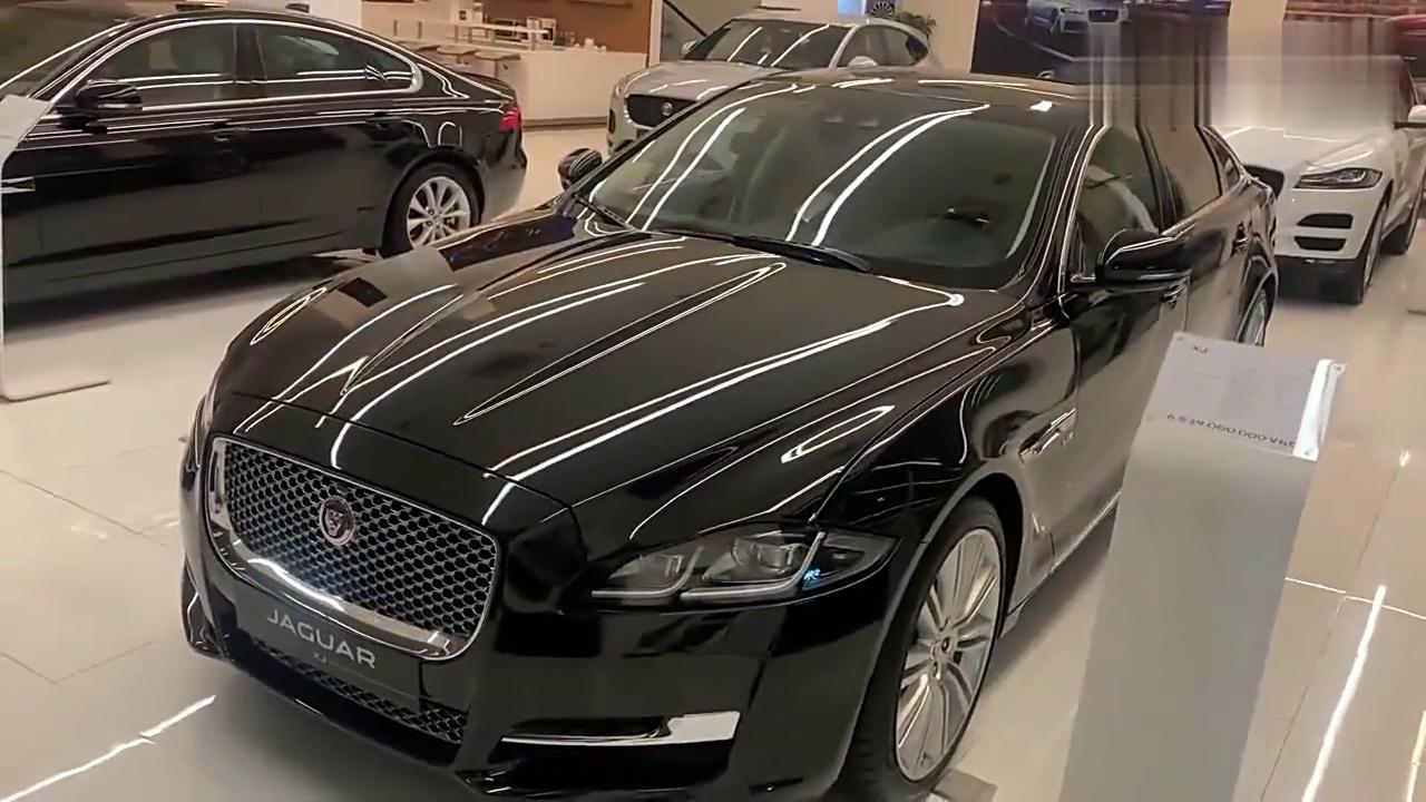 视频:大气优雅 大型豪华座驾,实拍欣赏捷豹XJL