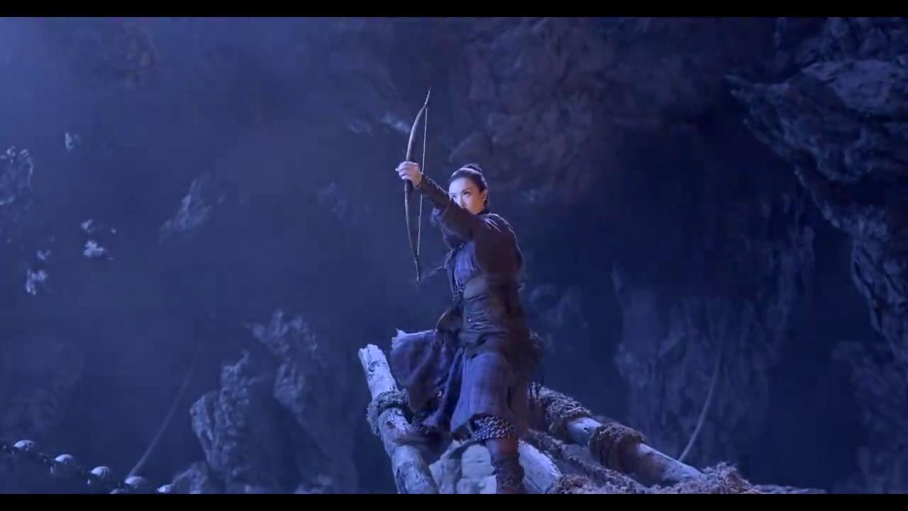 奇门遁甲:妖怪要释放妖物,三人敌不过,好强的冲击波