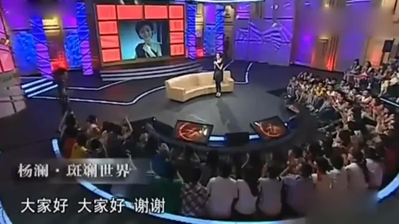 杨澜大秀性感照片她说还有比这更性感的主持人直言真的吗