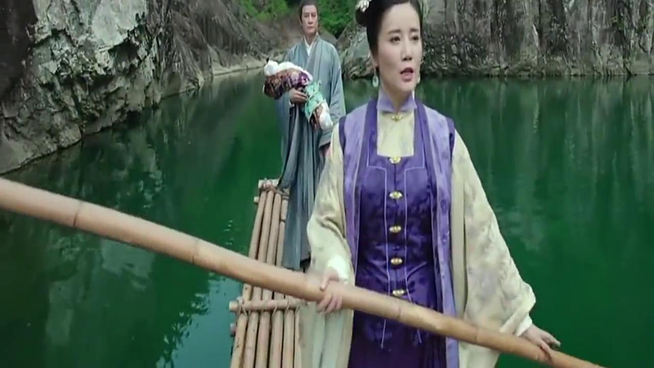 女子带着一双儿女来到世外桃源,退出江湖隐居于此