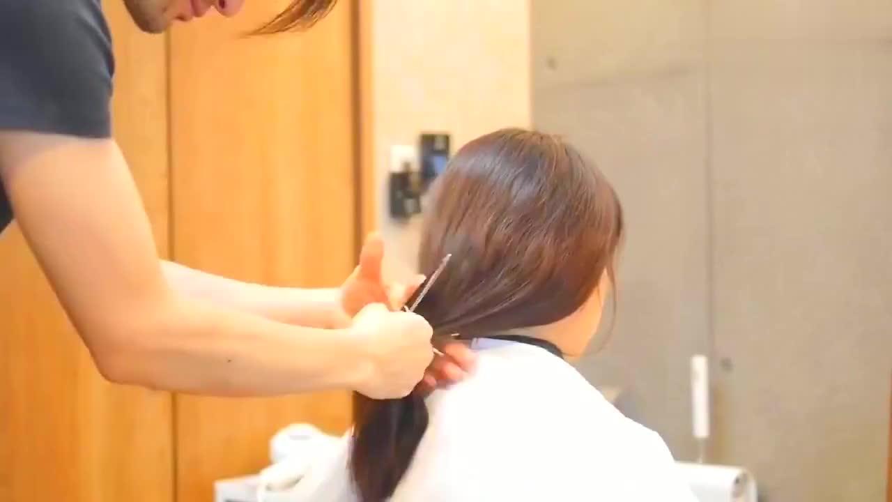 50到60岁女性发型,这样剪减龄不过时,不烫不染也很美