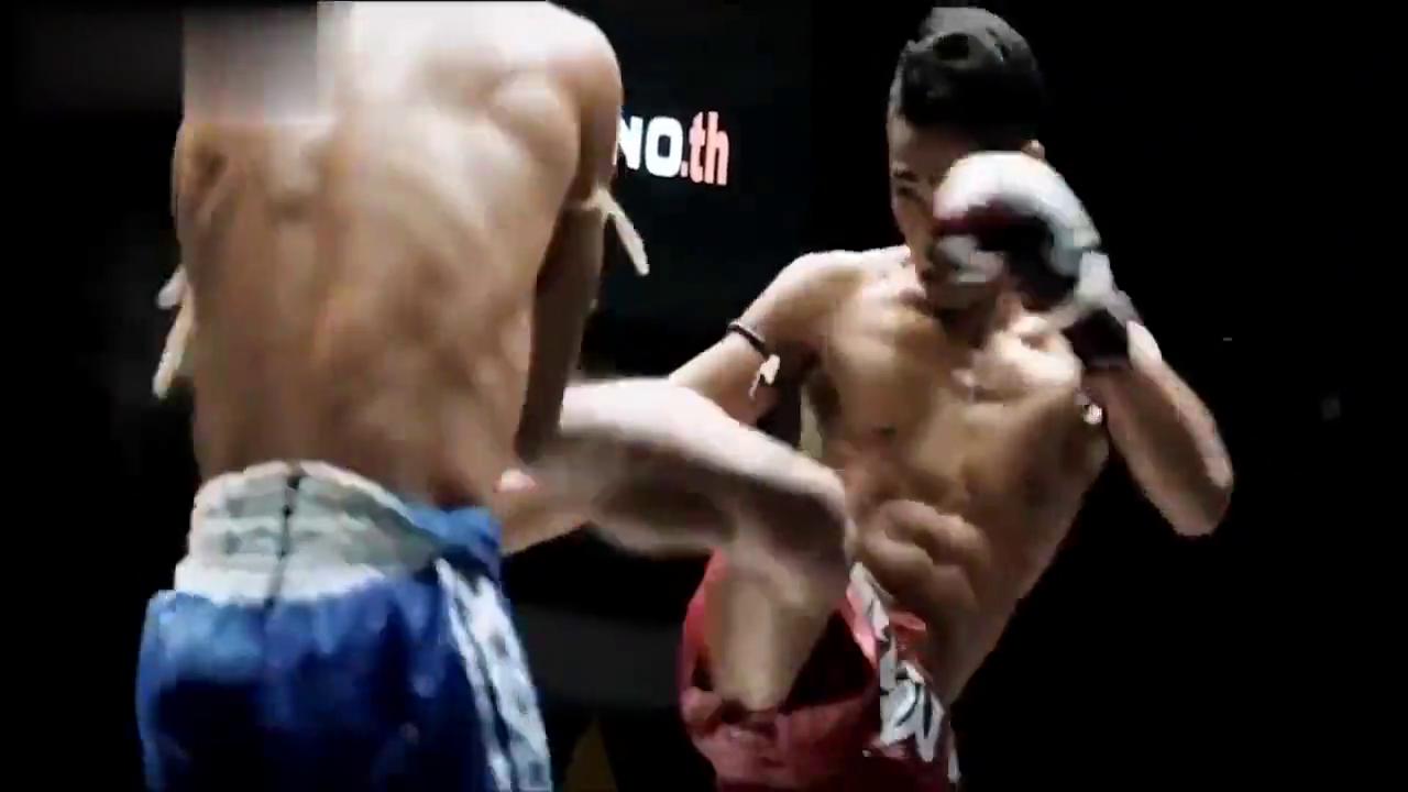 泰拳猛将个个铁骨铮铮,不玩花里胡哨就是硬怼,铁膝钢肘看着都疼
