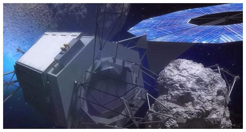 太空机器人将被发射到太空捕获小行星,避免小行星撞击地球