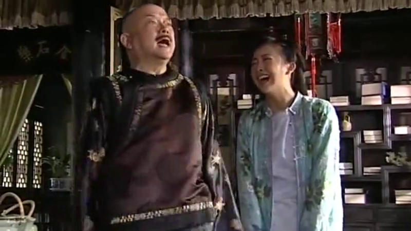 铁齿铜牙纪晓岚:纪晓岚吃白食还挑上了?撑的直打嗝!和珅笑啦