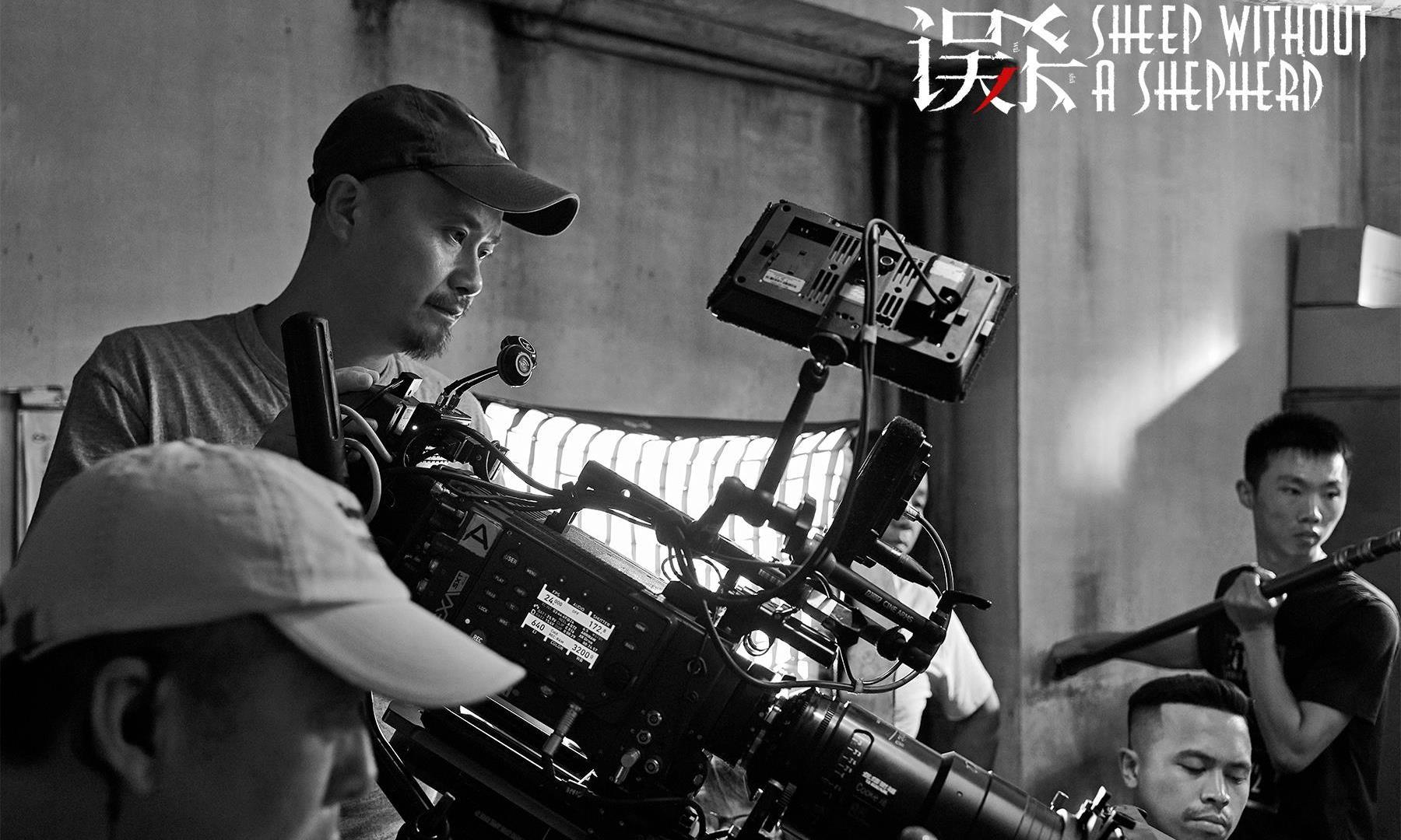 《误杀》曝幕后工作照 陈思诚柯汶利聚焦类型片