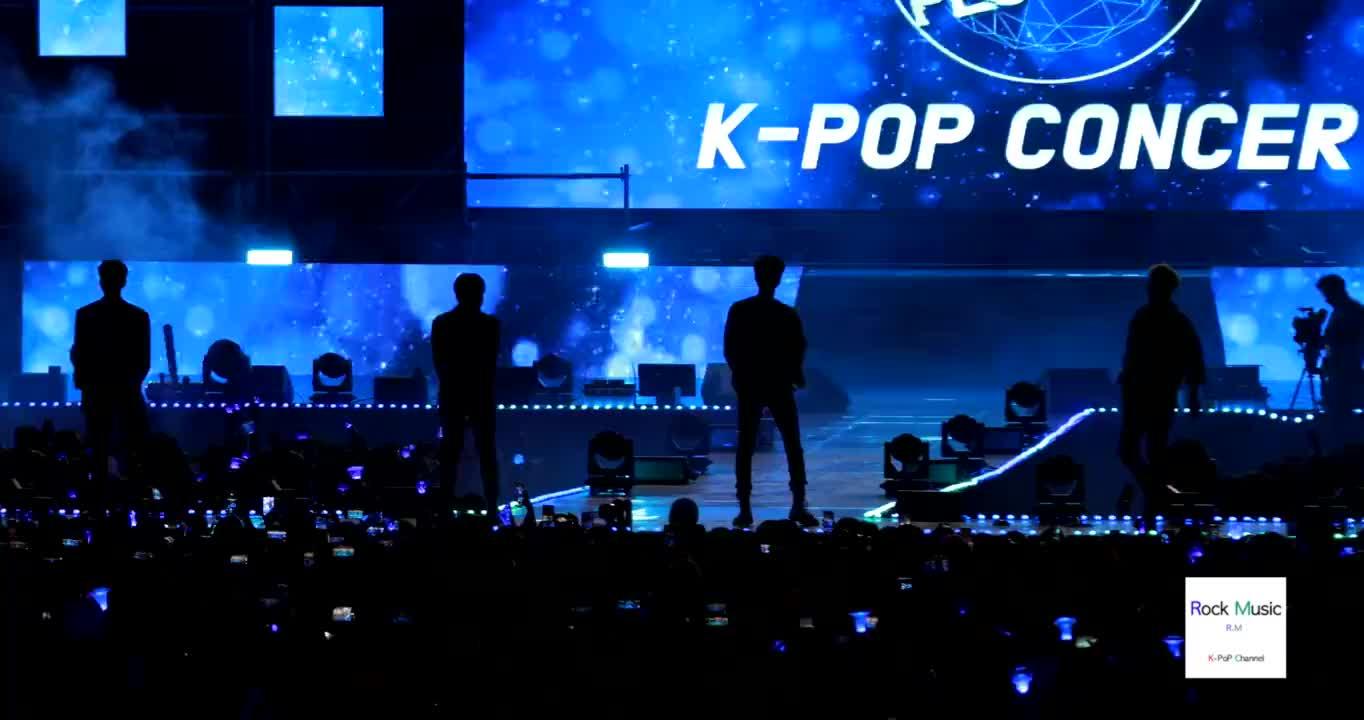 WINNER2019韩流音乐节的现场舞台