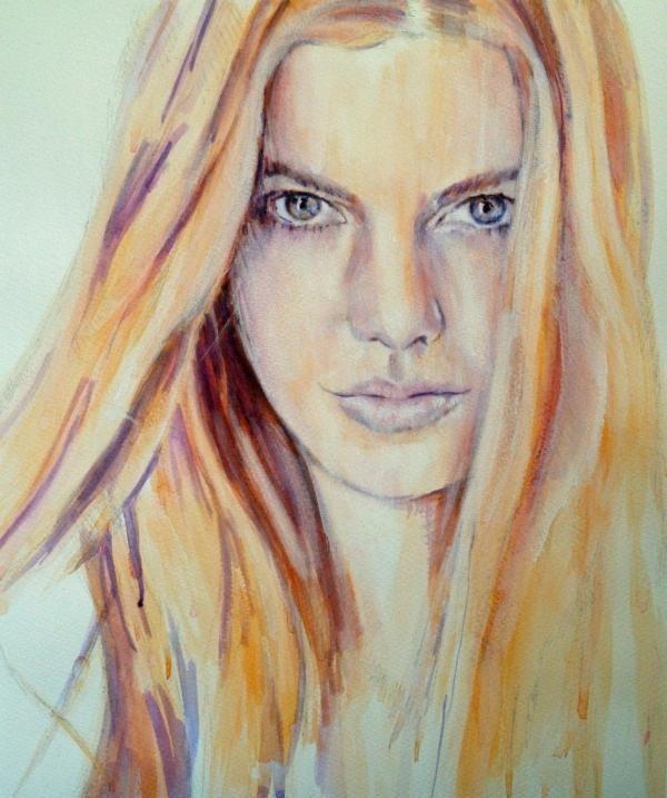 英国艺术家Lisa Andrews创作的绘画作品,你认为她画得怎么样