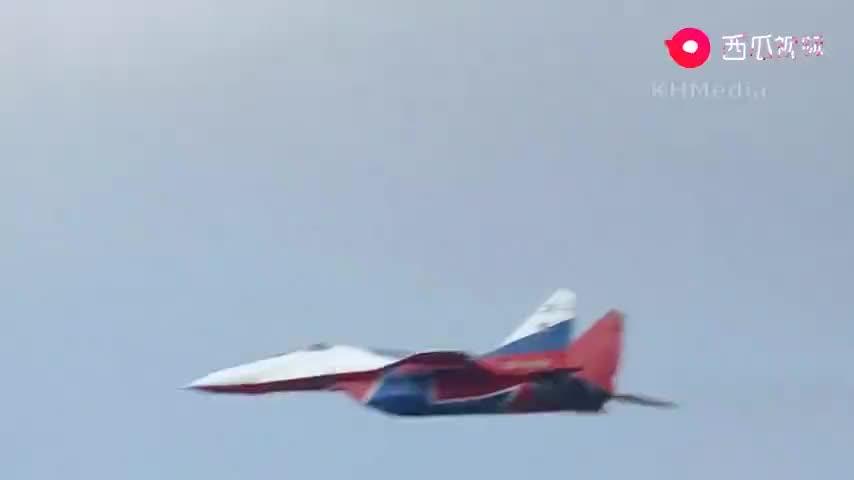 战斗民族的主力战机果然名不虚传 三代机格斗王米格-29