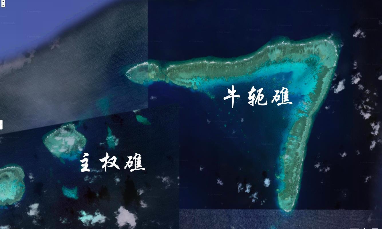 中国实控的牛轭礁,南沙群岛第一大天然良港